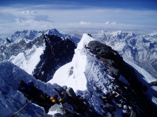 05.17Dis20.Looking%20back%20to%20the%20south%20summit%20of%20Everest%20JJ
