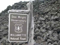 Dee Wright Observatory at McKensey Pass