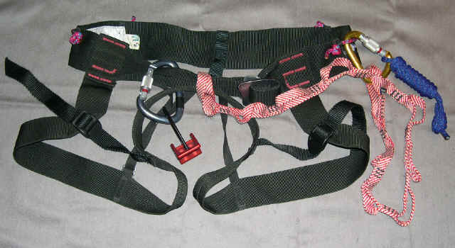 Harness002 racking gear on your alpine harness for some traditional summits alpine harness at bayanpartner.co